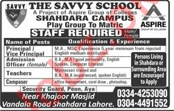 The Savvy School Principal Jobs