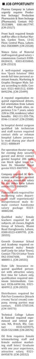 The Nation Newspaper Classified Ads 2019 In Karachi