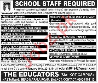 The Educators Principal Jobs