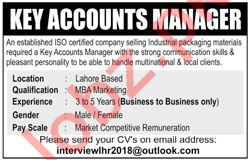 Key Accounts Manager Jobs