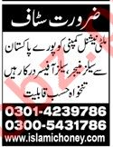 Islamic Honey Centre Sales Manager Jobs