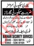 Security Guards Job 2019 in Karachi