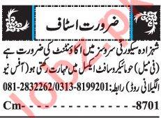 Female Accountant Jobs 2019 in Quetta