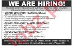 Business Development Head Job Opportunities