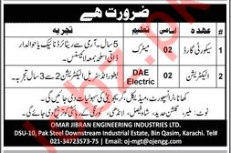 Security Guards & Electricians Jobs 2019 in Karachi