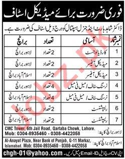 Dr Shahid Heart & General Hospital Lahore Jobs 2019