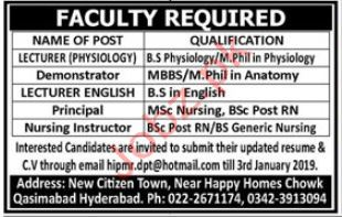 Lecturer Jobs in Private College