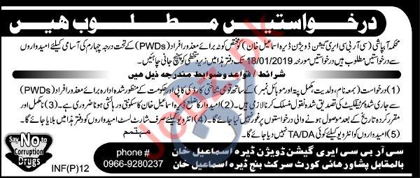 Irrigation Department D I Khan Labor Jobs