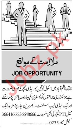 Daily Jang Newspaper Classified Jobs 2019 In Karachi 2019
