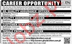 Ghazi Brothers Quality Assurance Officer Jobs