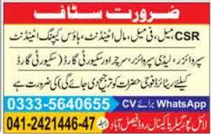 Supervisor Jobs in Private Company