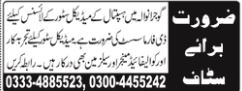 D Pharmacist Jobs Opportunities at Medical Store