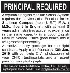 Laurelbank Public School Principal Jobs
