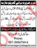 House Maid Jobs at Islamabad