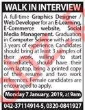 Graphic Designer & Web Developer Jobs 2019