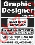 National Fiber Glass Industries Graphic Designer Jobs