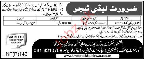 Teacher Jobs in Workers Children Junior Model School