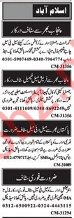 Nawaiwaqt Newspaper Classified Ads 2019 For Islamabad