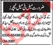 Teaching Jobs 2019 For School in Multan