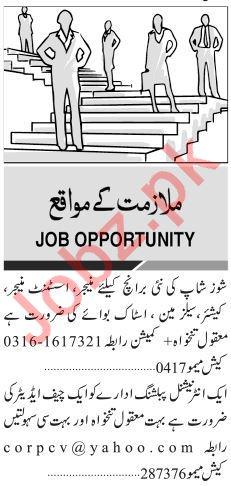 Receptionist, Computer Operator & Clerks Jobs 2019
