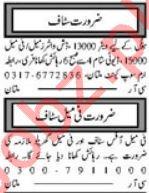 Hotel & House Staff Jobs 2019 in Multan