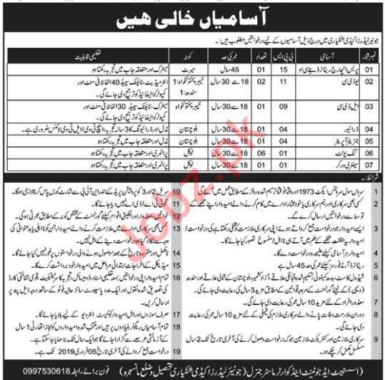 Junior Leaders Academy Jobs 2019 in Manshera KPK