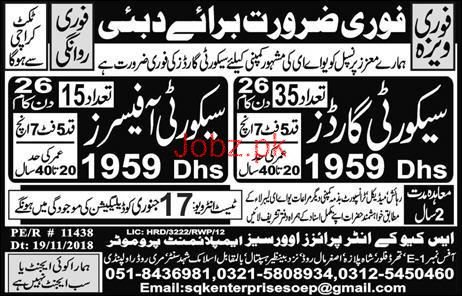 Security Officer, Security Guards Job Opportunity