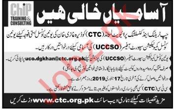 CHIP Training & Consulting Pvt Ltd Jobs For DG Khan