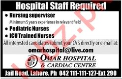 Hospital Jobs 2019 in Lahore