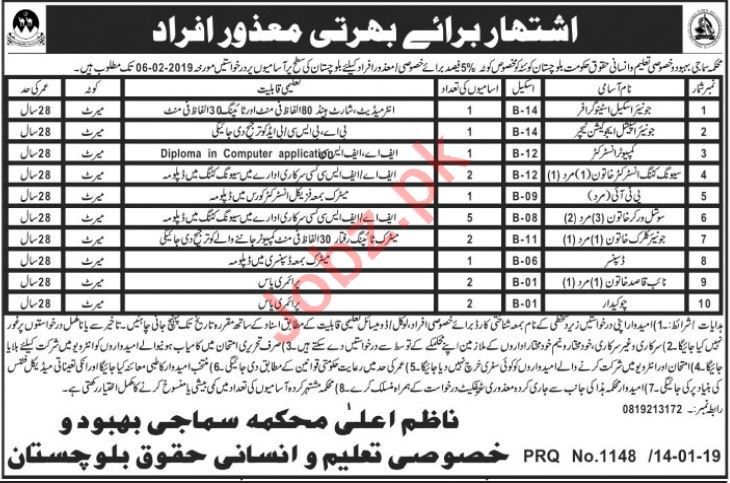Social Lady Worker Jobs at Human Rights Department