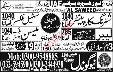 Steel Fiser Jobs in UAe