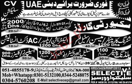 AC Duct Installation Jobs in UAE