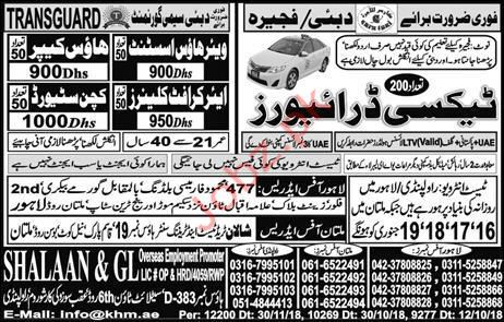 Warehouse Assistant Jobs in Dubai 2019 Job Advertisement
