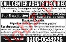 Call Center Agent Job Opportunities