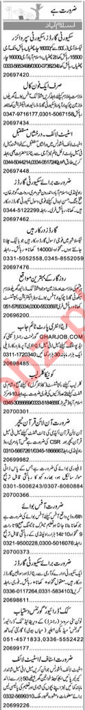 Daily Express Newspaper Classified Jobs 2019 In Islamabad