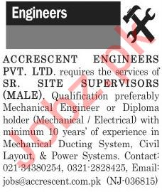 The News Sunday Classified Ads 20th 2019 for Engineers