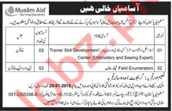 Muslim Aid Ngo Jobs 2019 In Islamabad 2019 Job Advertisement Pakistan