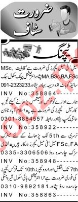 Daily Aaj Newspaper Classified Teaching Ads 2019