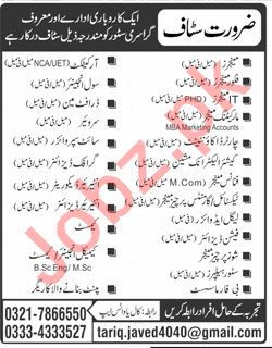 Manager, Floor Manager, Engineer & Draftsman Jobs 2019
