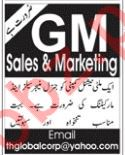 General Manager Sales & Marketing Jobs 2019 in Islamabad