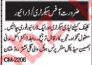 Secretary & Driver Jobs For Clinic in Multan