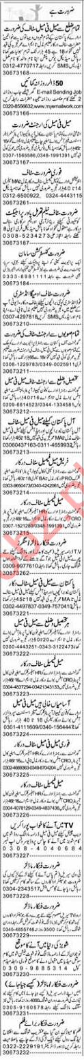 Daily Express Miscellaneous Staff Jobs 2019 in Lahore