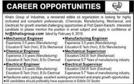 Mechanical Engineer Jobs in Private Company