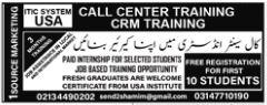 Call Center Staff Jobs 2019 in karachi