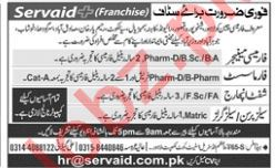 Pharmacy Manager Jobs at Servaid Pharmacy
