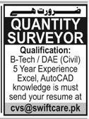 Quantity Surveyor Jobs in Private Company
