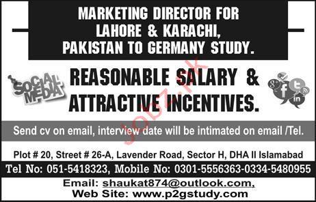 Marketing Directror Jobs in in Private Company
