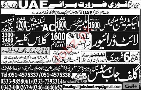 Electrician Jobs in UAE