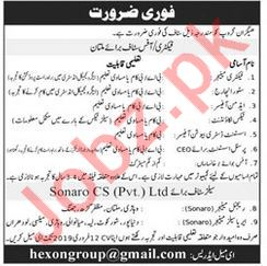 Hexon Group Factory Manager Job Opportunities