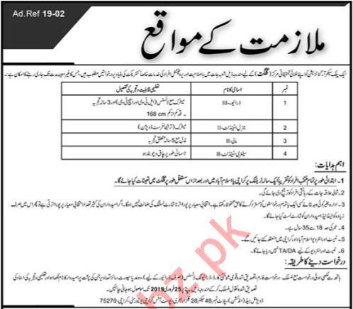 Public Sector Organization Jobs 2019 in Gilgit Baltistan GB
